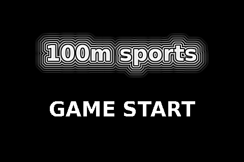 Screenshot 100m sports